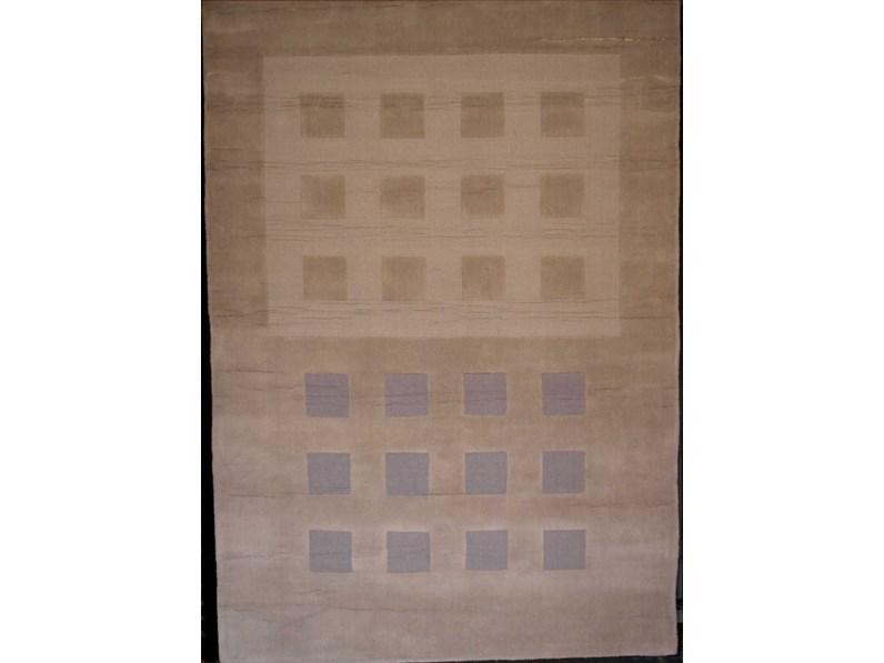 Tappeto in lana rettangolare moderno Luna cm.160x230 di Sitap ...