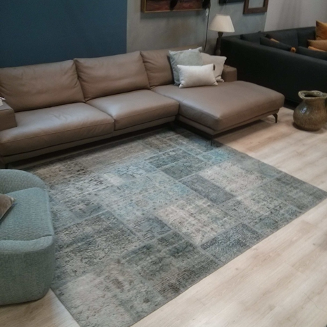 Tappeto Patchwork Mohebban Milano Verde