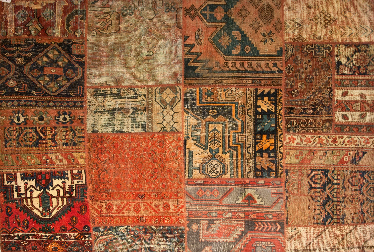 tappeto patchwork Persiano