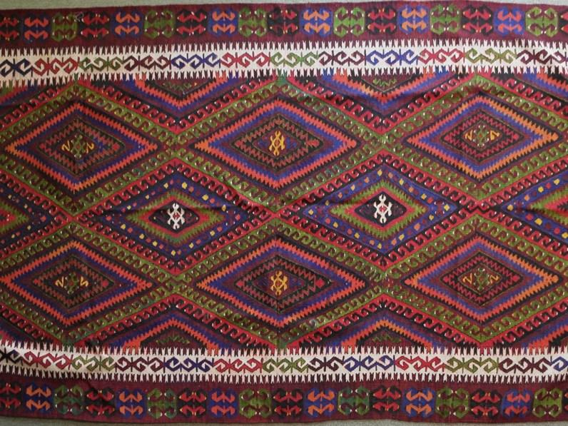 Tappeto rettangolare classico Old Kilim Fethiye cm.167x276 di ...