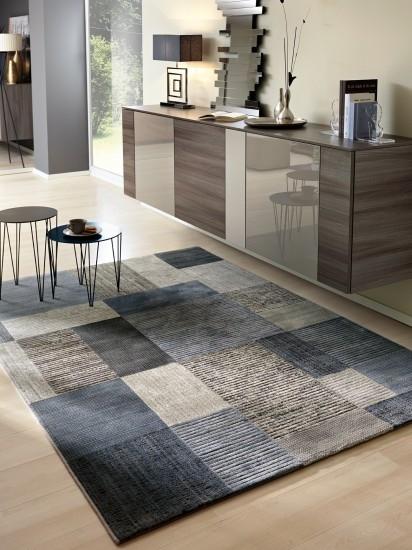 Tappeto turchese grigio sconto outlet 23340 tappeti a prezzi scontati - Tappeti in lana moderni ...