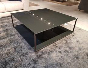 Tavolino Arketipo in vetro Fisso