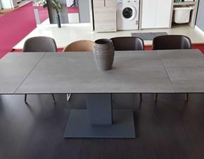 Tavolo Calligaris Echo in ceramica cemento PREZZO OUTLET