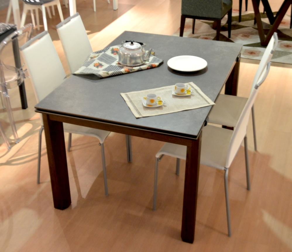 Arredamenti chianese tavolo calligaris esteso wood sconto for Arredamenti calligaris