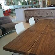 Arte Brotto Tavolo Vero legno noce canaletto massello