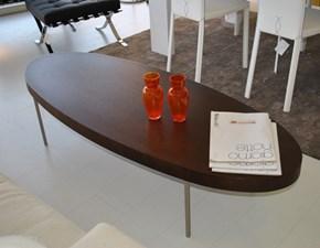 Tavolino salotto B&B in rovere scuro scontato