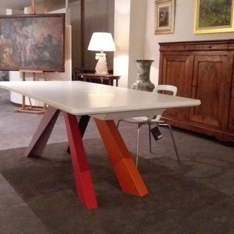 Tavolo bonaldo bigtable allungabili tavoli a prezzi scontati - Tavoli regolabili in altezza prezzi ...