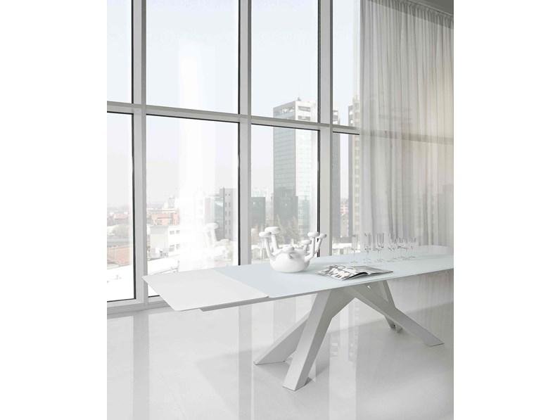 Bonaldo tavolo big table 200 300 rettangolare allungabile for Arredamenti bonaldo