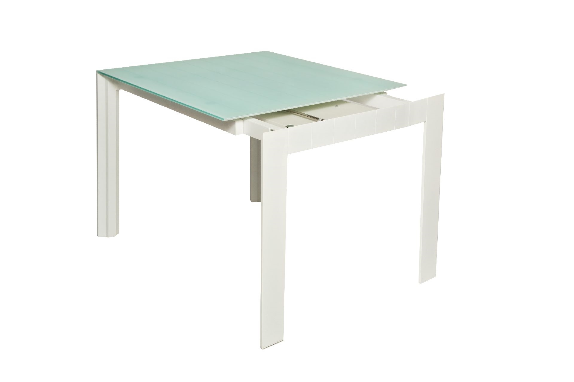 Bonaldo tavolo gross tipo quadrato allungabili con ripiano for Tavolo quadrato allungabile vetro
