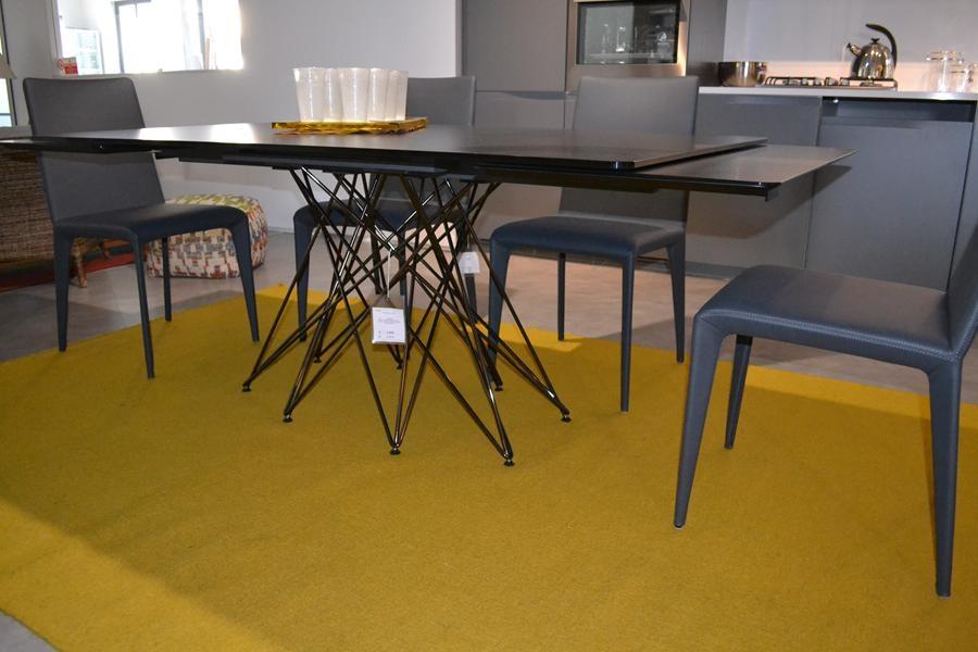Tavolo Allungabile Base Centrale Tl Bonaldo : Bonaldo tavolo octa scontato del tavoli a prezzi