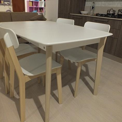 Calligaris tavolo modello cream scontato del 40 tavoli for Tavoli e sedie calligaris