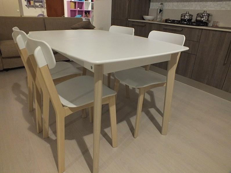 calligaris tavolo modello cream scontato del 40