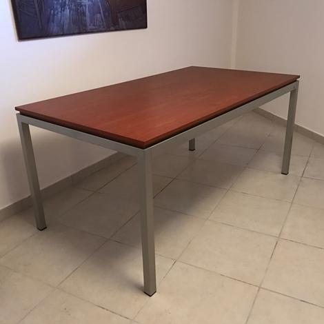 Calligaris tavolo rok satinato ciliegio 160 x 90 scontato for Offerte tavoli calligaris