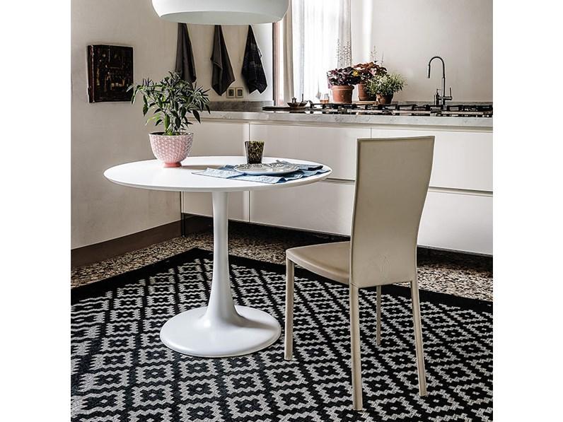 Cattelan italia hugo bistrot tavolo rotondo for Arredamenti villa outlet