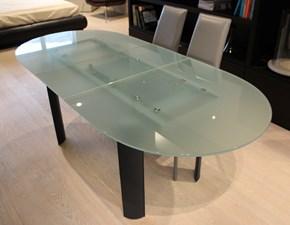Tavolo allungabile in vetro Cattelan scontato del 63 %