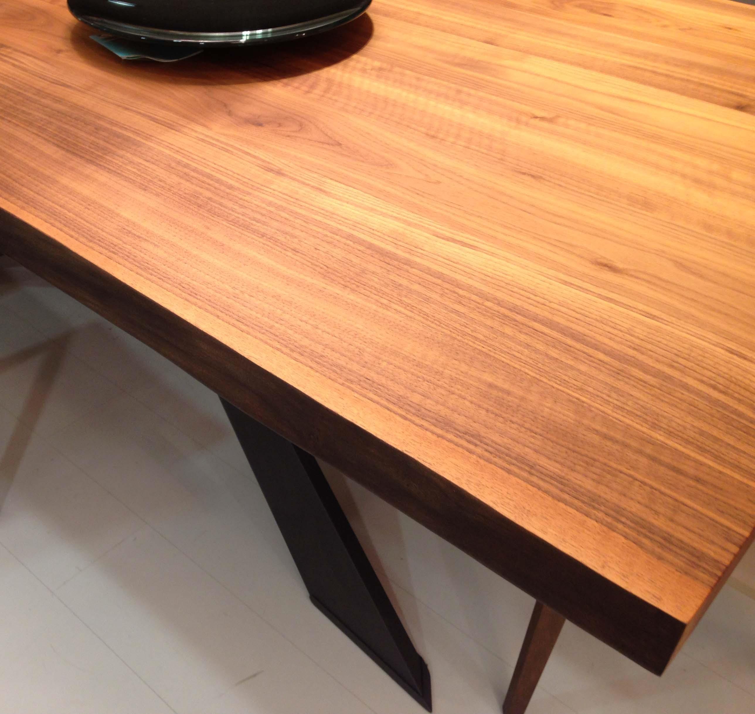 Cattelan tavolo spyder wood rettangolare fisso legno for Tavolo legno acciaio