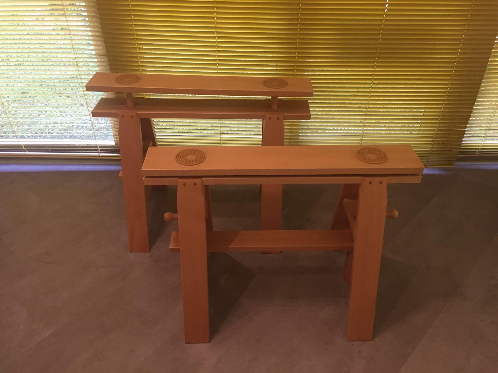 zanotta cavalletti per tavolo modello leonardo scontati