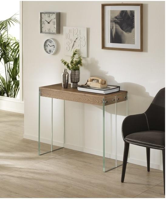 Consolle allungabile a 3 metri rovere o noce tavoli a for Tavoli allungabili fino a 3 metri