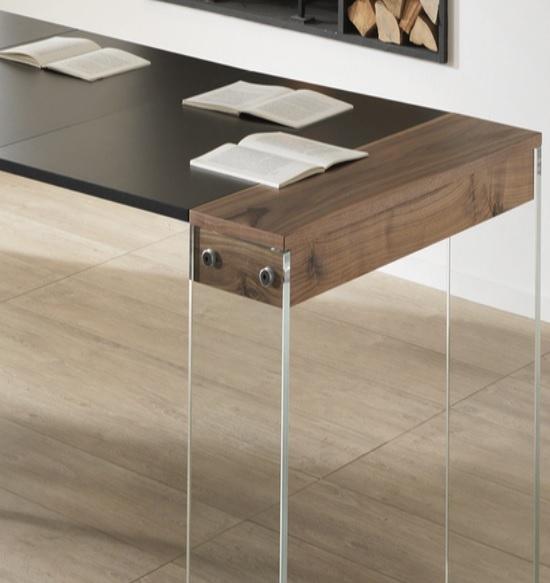 Consolle allungabile a 3 metri rovere o noce tavoli a prezzi scontati - Tavoli allungabili fino a 3 metri ...