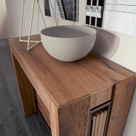 Consolle allungabile a4 in legno tavoli a prezzi scontati for Tavolo consolle allungabile legno massello