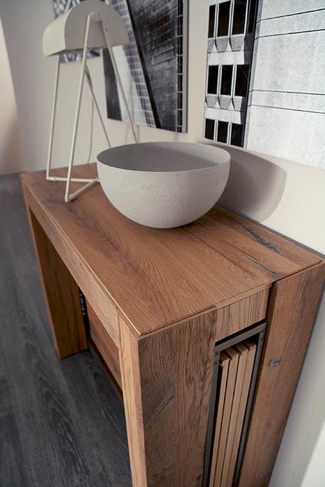 Consolle allungabile a4 in legno tavoli a prezzi scontati - Console transformable en table ...