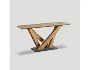 Consolle in legno rettangolare Db003937 Dialma brown in Offerta Outlet