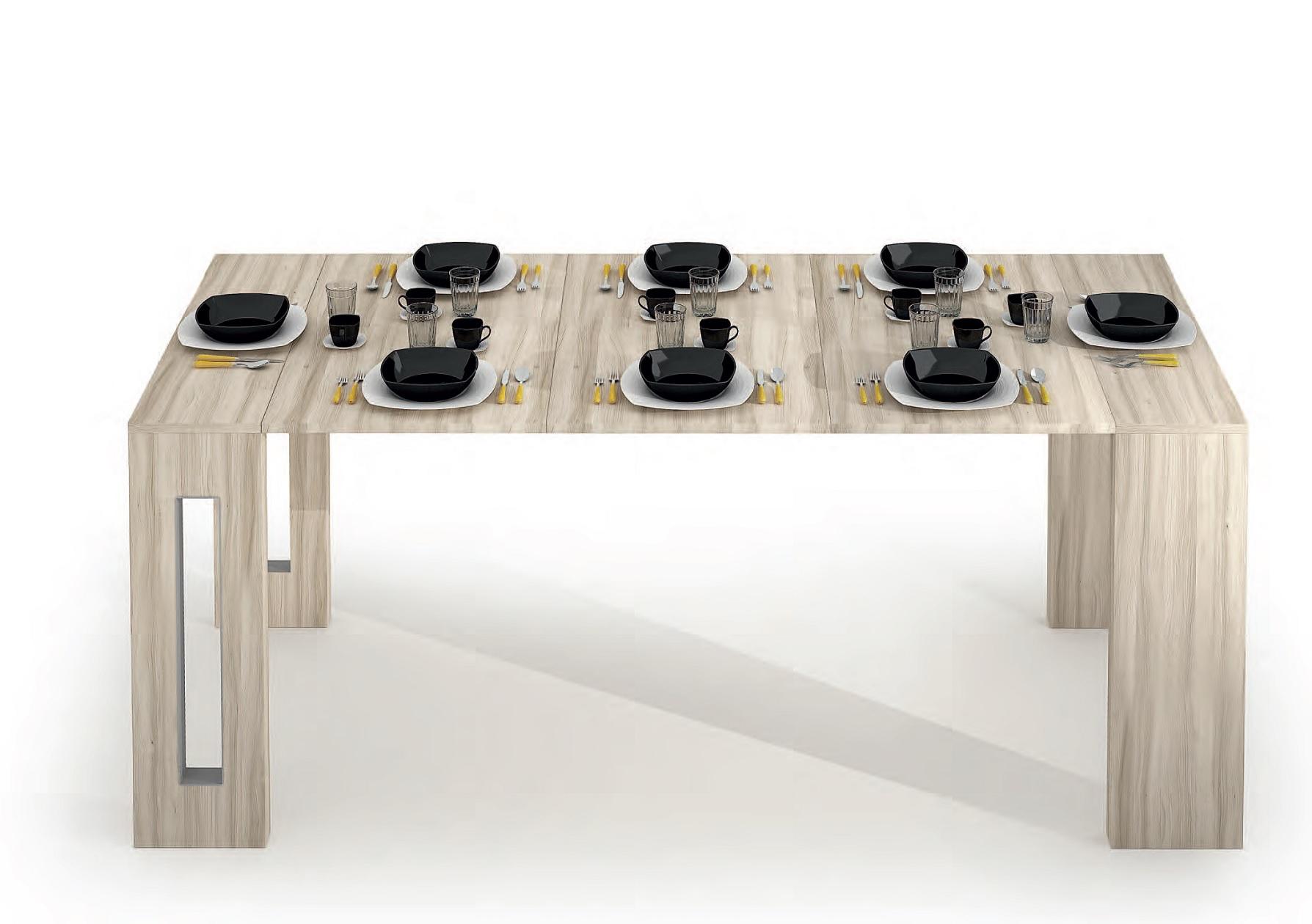 Sedia Minimal Pieghevole Plastica Nobys Ozzio Italia Consolle trasformabile tavoli a prezzi scontati
