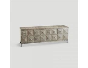 Credenza in legno rettangolare Db003987  Dialma brown a prezzo scontato