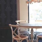 Dialma Brown Tavolo Tavolo + 4 sedie scontato del -50 %