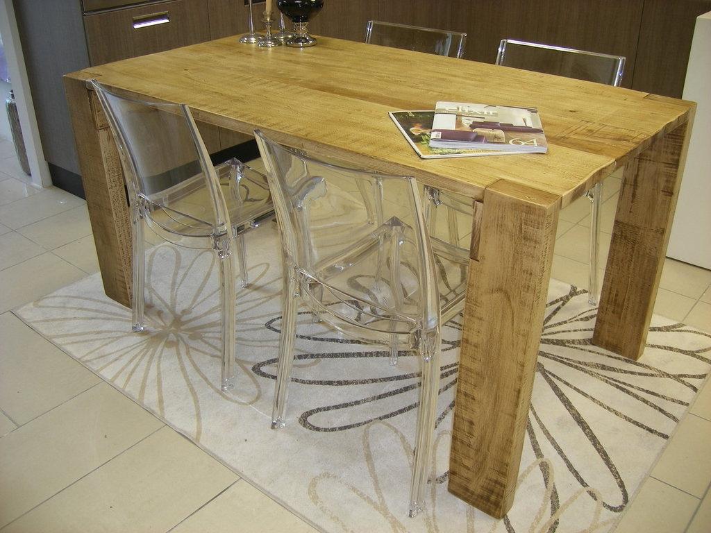 Tavoli in legno massello rustici: tavolo in stile provenzale legno ...