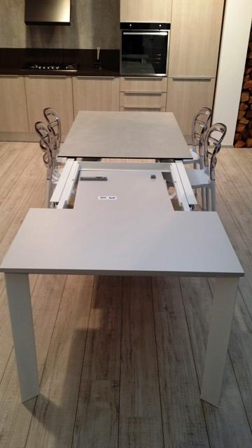 Tavolo friulsedie dionisio super t92 vetroceramica 140 x 90 allungabile a 3 metri scontato del - Tavoli allungabili fino a 3 metri ...