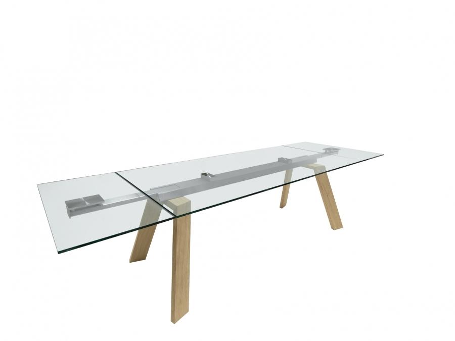 midj tavolo toronto allungabile cristallo tavoli a. Black Bedroom Furniture Sets. Home Design Ideas