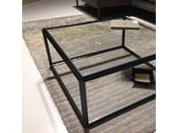 Molteni & C Tavolino salotto piano cristallo molteni 45° Quadrato ...