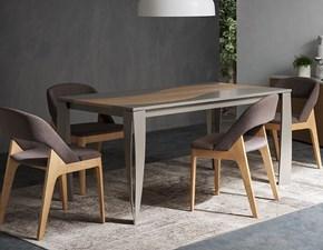 Tavolo rettangolare allungabile legno Napol Milano