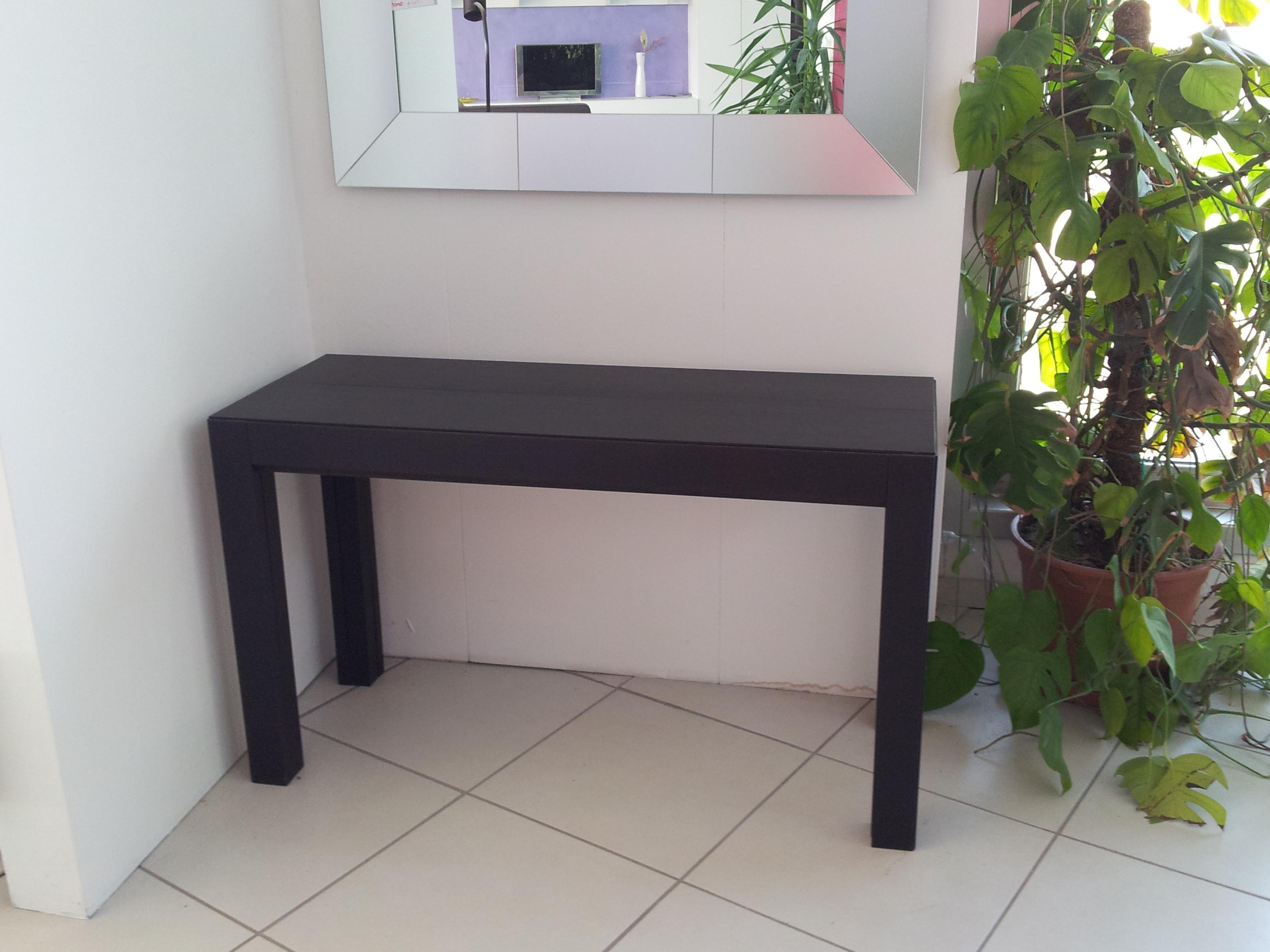 Tavolo Consolle Zamagna: Pegaso tavolo quadrato zamagna allungabile.