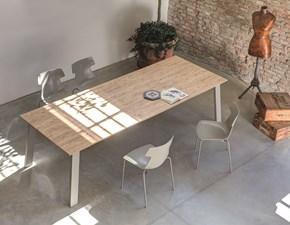 Tavolo cattelan eliot wood drive rettangolari allungabili for Tavolo 70x110 allungabile