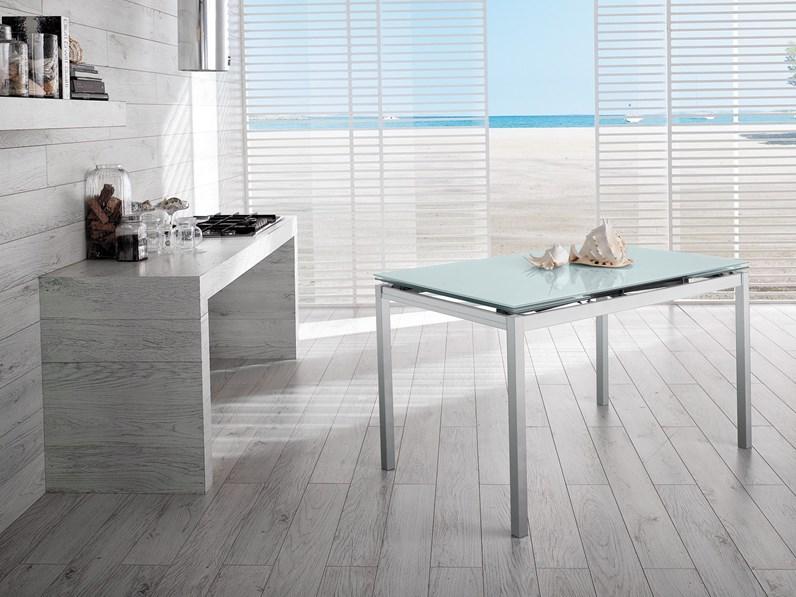 Offerta tavolo bloom di cucine store misura 130x80cm for Offerta tavolo allungabile