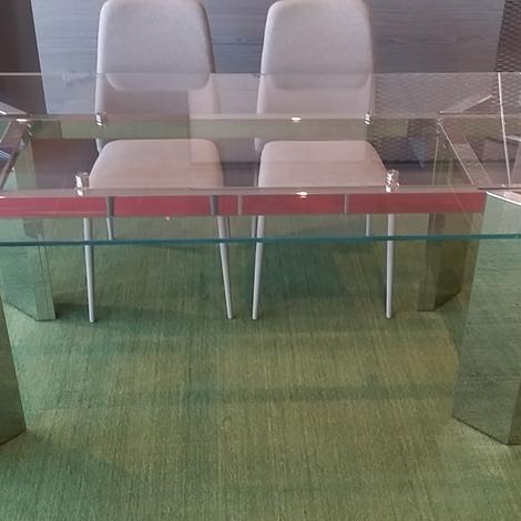 Offerta tavolo calligaris tower tavoli a prezzi scontati for Calligaris tavolo cristallo