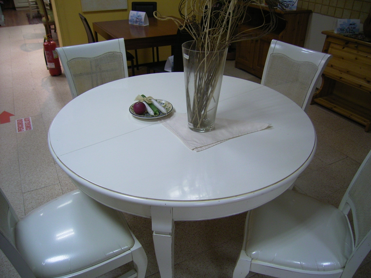 Offerta tavolo con 4 sedie bianco antico tavoli a prezzi - Tavolo con sedie ...