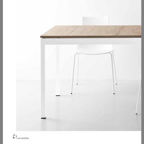 Offerta tavolo rettangolare allungabile in laminato per - Tavolo per cucina allungabile ...
