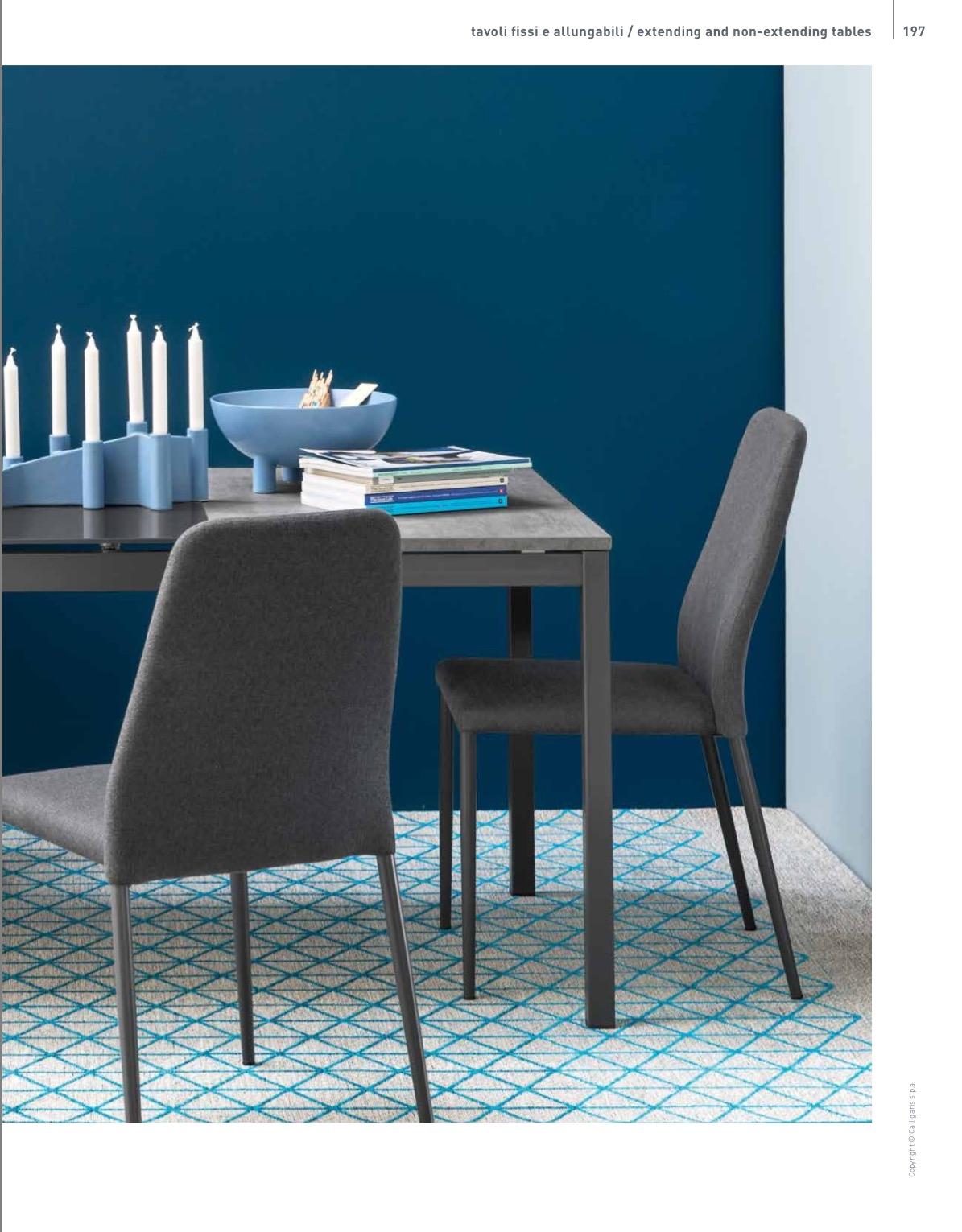 Offerta tavolo rettangolare allungabile in laminato per for Tavolo rettangolare allungabile