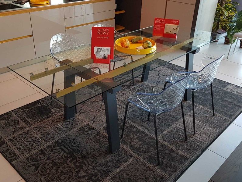 Outlet tavolo calligaris levante in offerta for Tavoli moderni calligaris