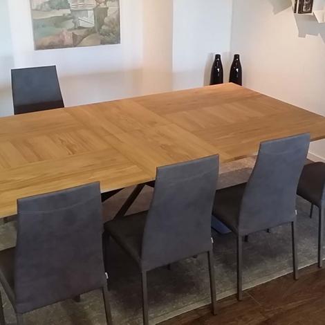 Outlet tavolo ozzio 4x4 t240 tavoli a prezzi scontati for Tavolo design outlet