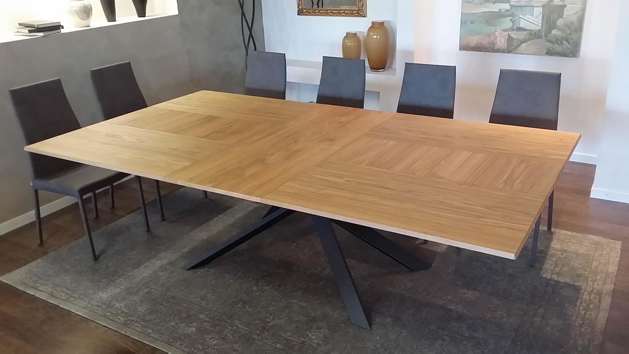 Outlet tavolo ozzio 4x4 t240 tavoli a prezzi scontati for Outlet tavoli design