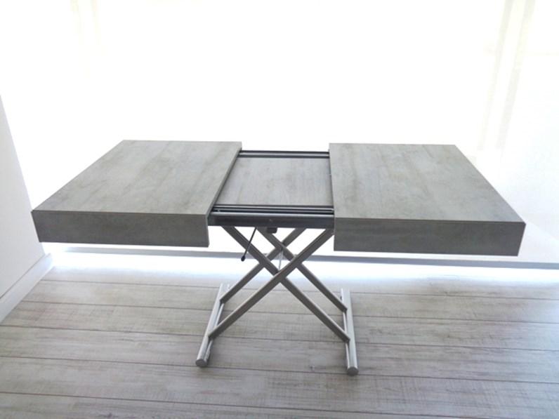 Tavolino Trasformabile Ozzio Design.Ozzio Tavolo Tavolino Trasformabile New Cover Easyline Scontato Del 32