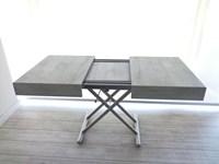 Tavolino Trasformabile Tavolo.Ozzio Tavolo Tavolino Trasformabile New Cover Easyline Scontato Del 32