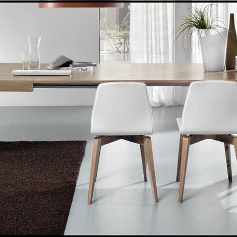 Promozione tavolo metropol 4 sedie in ecopelle - Tavolo friulsedie ...