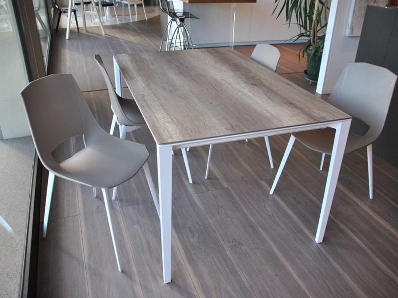 Point House Tavoli E Sedie.Tavolo Rettangolare Fusion Point House In Laminato Rovere Anticato