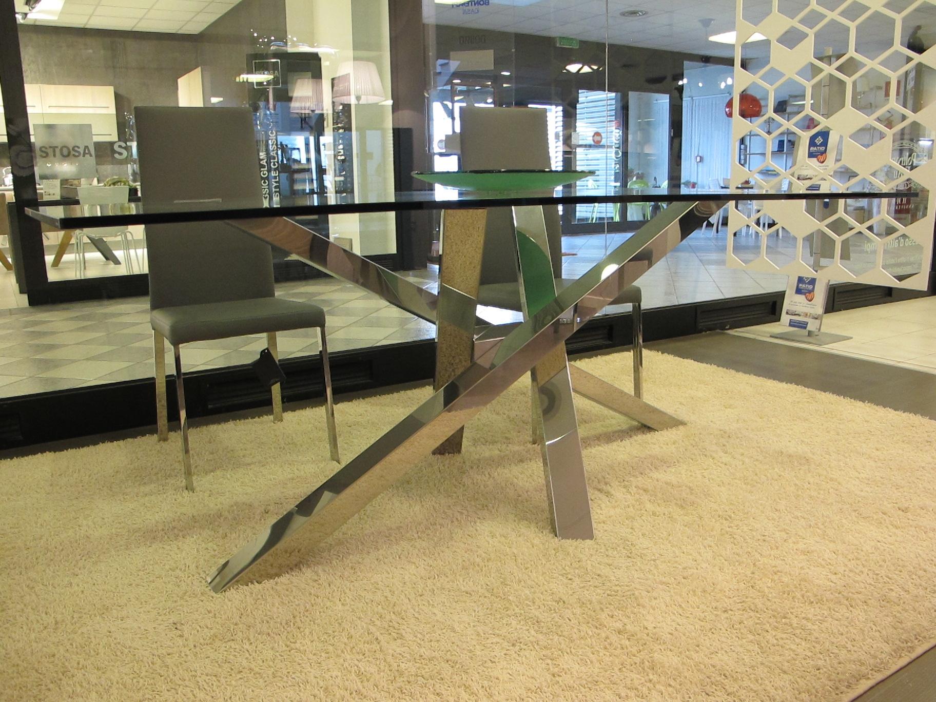 Riflessi tavolo shangai scontato del 38 tavoli a for Tavolo design outlet