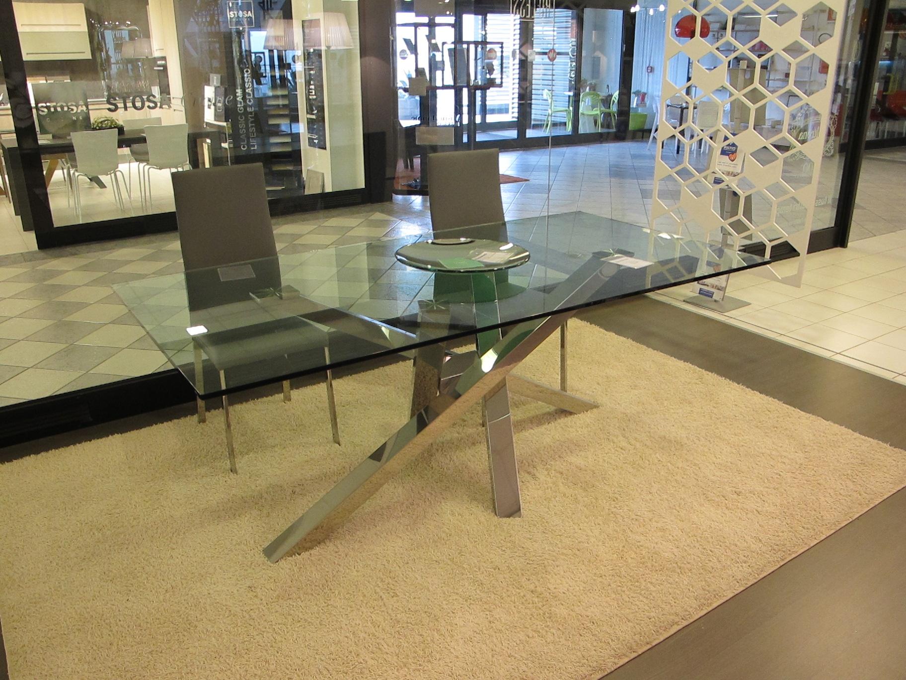 Riflessi tavolo shangai scontato del 38 tavoli a for Riflessi tavoli allungabili